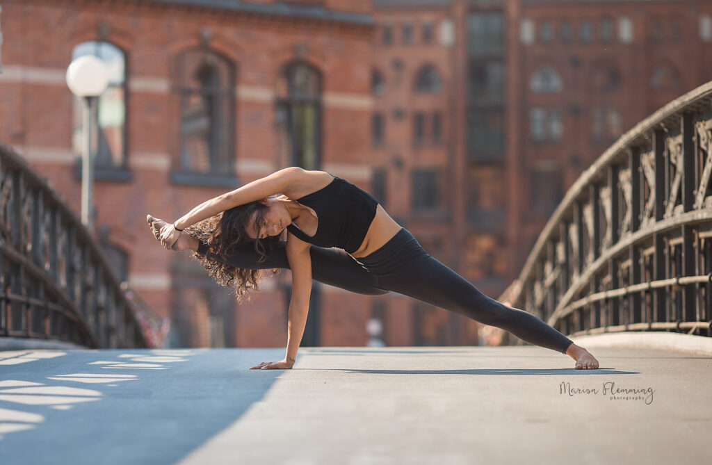 Speicherstadt Shooting Fotografie Yoga
