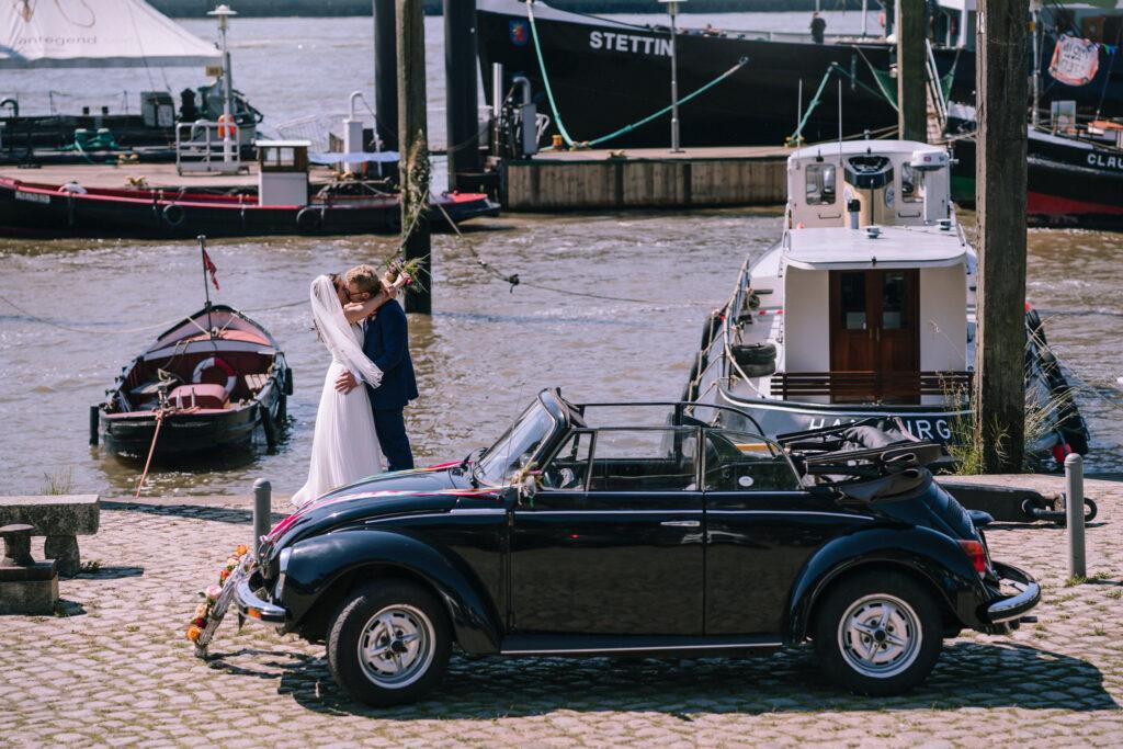 Elbe Hamburg Hochzeitsreportage