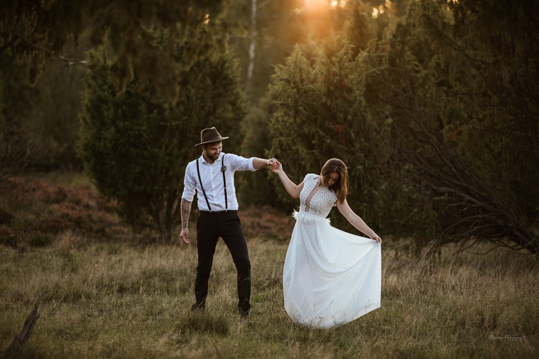 Hochzeitsfotografin Lüneburger Heide
